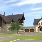 Проект дома на улице Рыбаков 03
