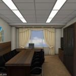 Атриум палас отель интерьер офиса 04