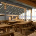 Горнолыжный комплекс гора Белая интерьер кафе 08