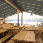 Горнолыжный комплекс гора Белая интерьер кафе 09
