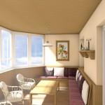 Дизайн интерьера квартиры Лодыгина