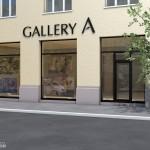 Интерьер картинной галереи в Будапеште 02