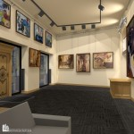 Интерьер картинной галереи в Будапеште 04