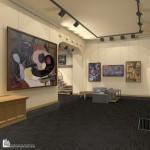 Интерьер картинной галереи в Будапеште 05